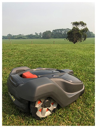 The Husqvarna Automower 450X has a great set of features
